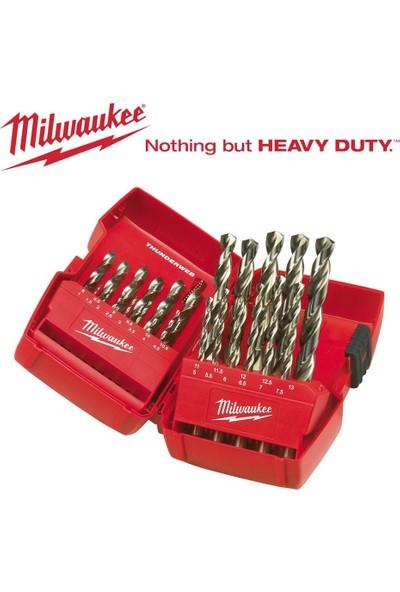 Milwaukee Metal Matkap Ucu Set 25 Parça (1-13) Thunderweb Seri