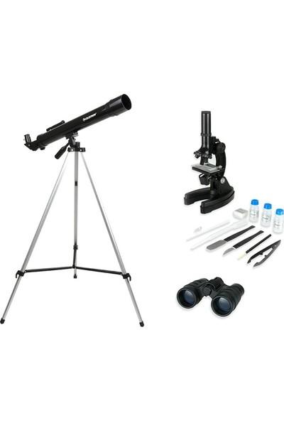Celestron Teleskop, Dürbün Ve Mikroskop Seti 22010