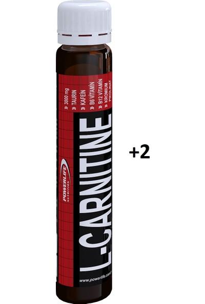 Powerlife L Carnitine 100 Kapsül 2 Adet 25 Ml L Karnitin Shot