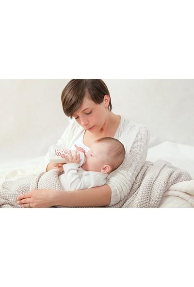 Canpol Babies Newborn Collection EasyStart Antikolik BPA'sız Biberon Pembe 0 Ay+ 120 ml