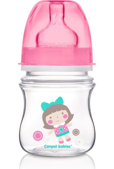 Canpol Babies Toys Collection EasyStart Antikolik BPA'sız Biberon Pembe Bebek 0 Ay+ 120 ml