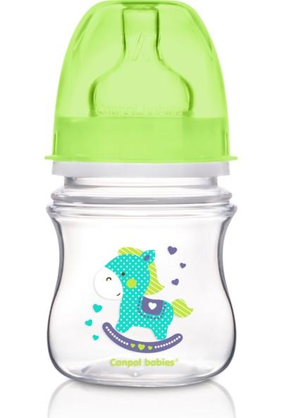 Canpol Babies Toys Collection EasyStart Antikolik BPA'sız Biberon Yeşil At 0 Ay+ 120 ml