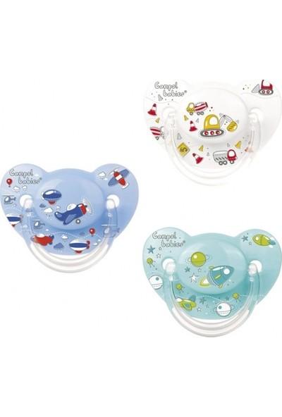 Canpol Babies Machines Collection BPA'sız Ortodontik Emzik Space Yeşil 0 - 6 Ay