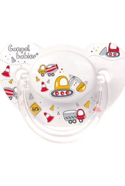 Canpol Babies Machines Collection BPA'sız Ortodontik Emzik Machines 0 - 6 Ay