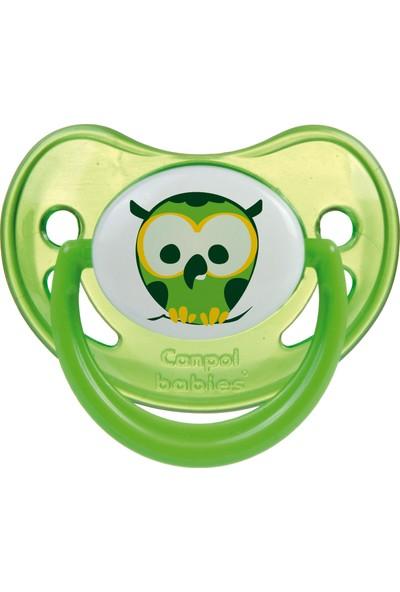 Canpol Babies Night Dreams Collection BPA'sız Ortodontik ( Karanlıkta Parlar ) Emzik Yeşil 0 - 6 Ay