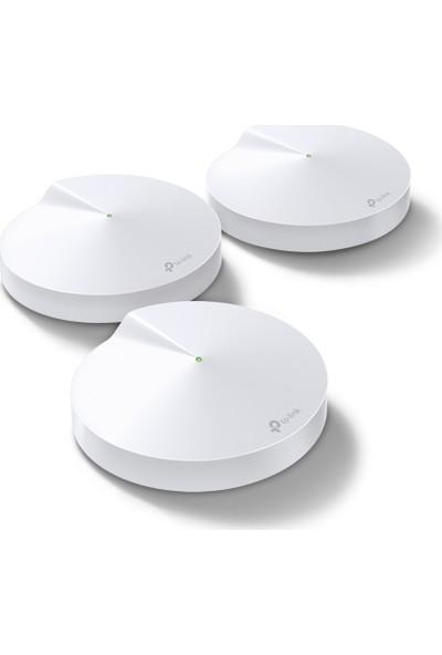 TP-Link Deco M5 AC 1300 Mbps Mesh Tüm Ev 3'lü Wi-Fi Sistemi