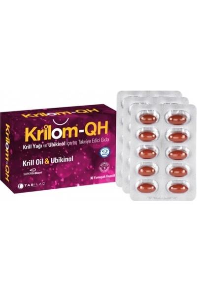 Krilom-QH Krill Oil & Ubikinol 30 Yumuşak Kapsül