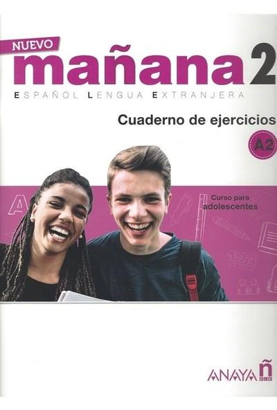 Nuevo Mañana 2 A2 Cuaderno De Ejercicios - Milagros Bodas