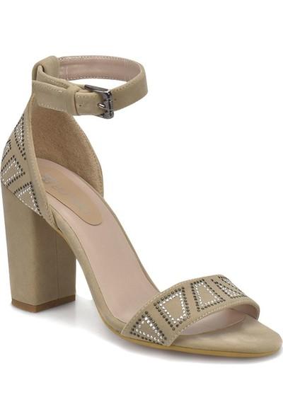 Butigo 18S-087 Bej Kadın Ayakkabı