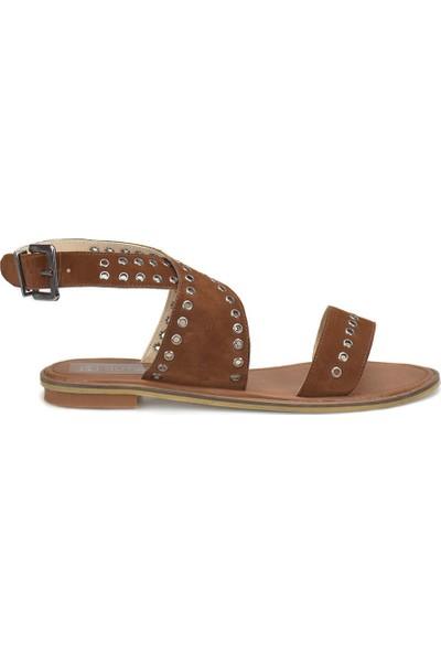 Butigo 18S-223 Camel Kadın Ayakkabı