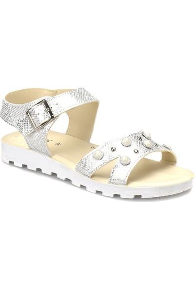 Polaris 81.311702.Z Beyaz Kadın Sandalet