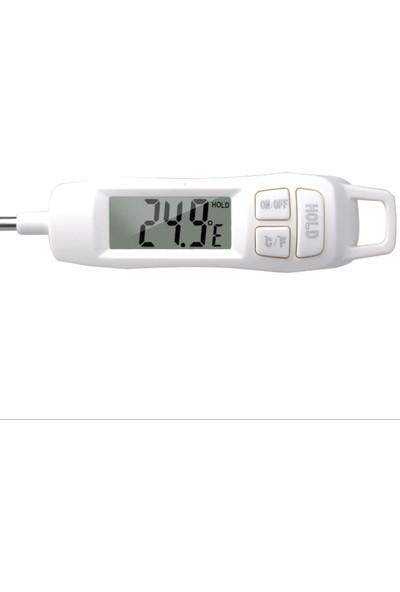 Weather Forecast Termometre Daldırma Saplama Dijital Gıda Termometresi thr267
