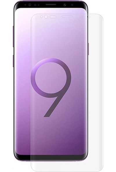 Dafoni Samsung Galaxy S9 Curve Darbe Emici Şeffaf Ön+Arka Ekran Koruyucu Film