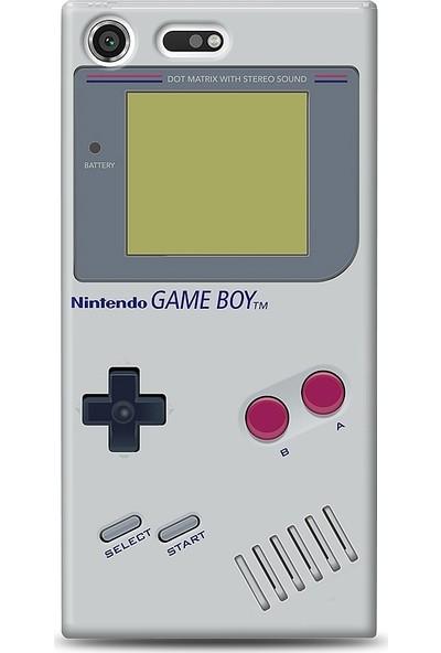 Eiroo Sony Xperia XZ Premium Game Boy Baskılı Tasarım Kılıf
