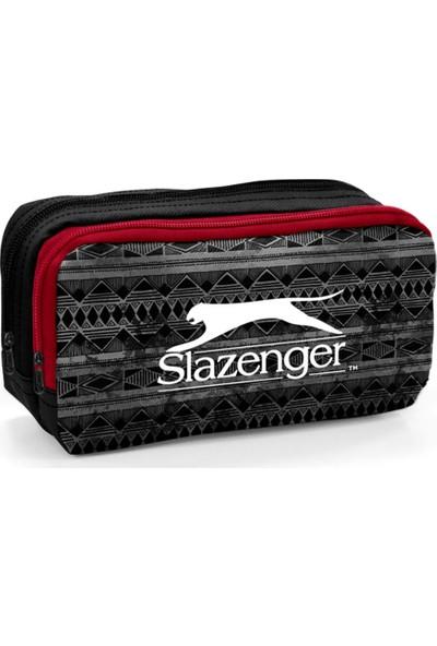 Slazenger Siyah Desenli Kalem Çantası 12435