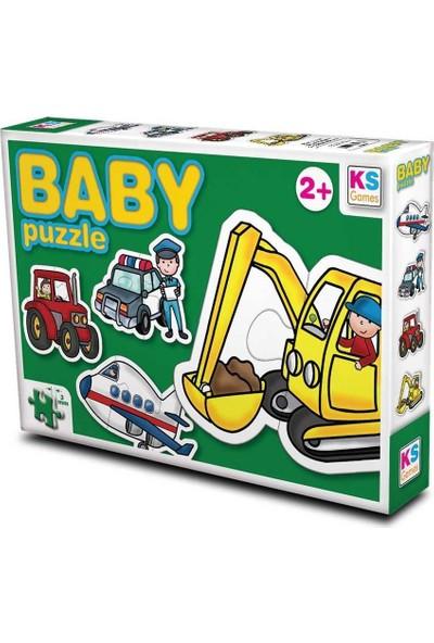 Ks Games 2+3+4+4 Parça Baby Puzzle Set