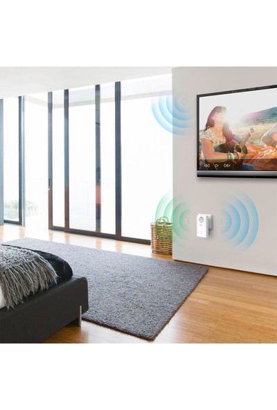 TP-Link TL-WPA8630P KIT AC 1200 Mbps Priz Girişli Gigabit Wi-Fi Powerline Kit