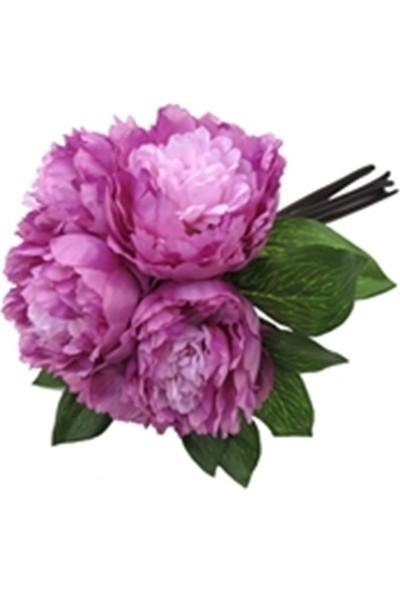Allmode Dekoratif Çiçek Mor Şakayık 6'Lı Buket