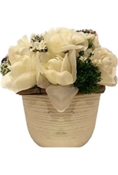 Allmode Dekoratif Çiçek Fransız Güller 4
