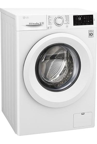 LG F2J5TNP3W A+++ 8 kg 1200 Devir Çamaşır Makinesi