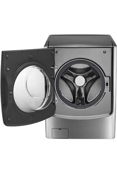 LG FH0C9CDHK7.ASSPLTK A++ 17 kg Yıkama / 10 kg Kurutma 1100 Devir Çamaşır Makinesi