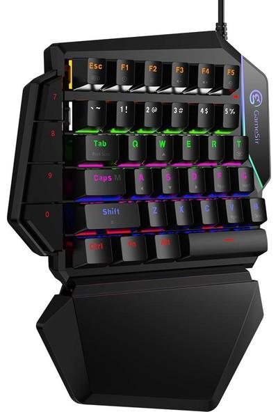 GameSir GK100 Gaming Mekanik Oyun Klavyesi / Konsolu GameSir Battledock X1 ve PC ile Uyumlu