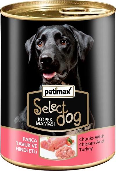 Patimax Parça Tavuk ve Hindi Etli Köpek Konserve 400 gr