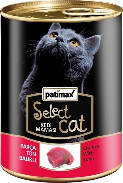 Patimax Parça Ton Balıklı Kedi Konserve 400 gr