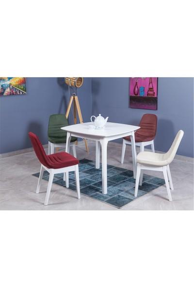 Allmode 3710 Palermo Masa Beyaz