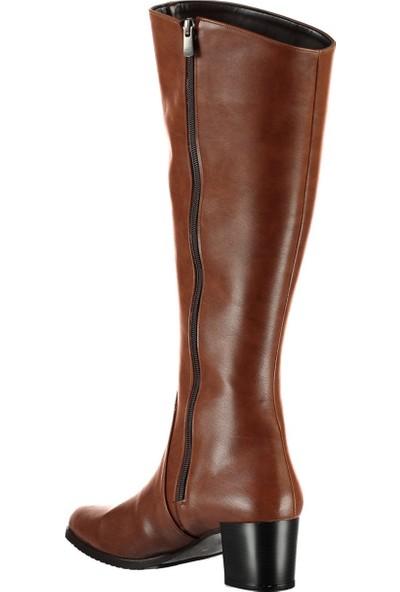 Fox Shoes Taba Kadın Çizme A654252709