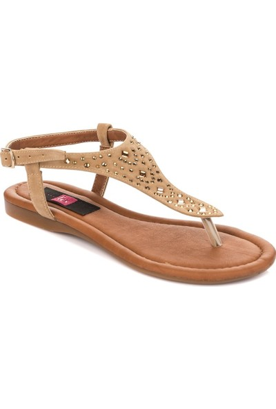 Fox Shoes Ten Kadın Sandalet B548392002
