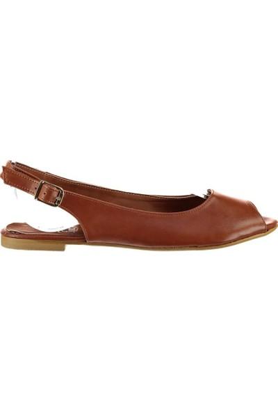 Fox Shoes Taba Kadın Sandalet B726104509