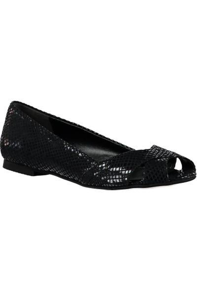 Fox Shoes Siyah Kadın Sandalet B726109907