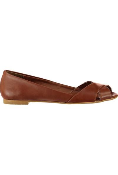 Fox Shoes Taba Kadın Sandalet B726109909