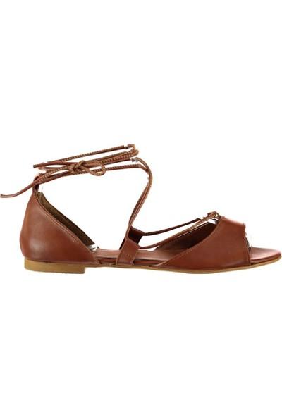 Fox Shoes Taba Kadın Sandalet B726547309