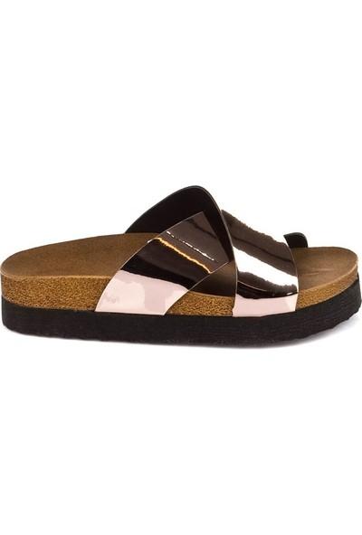 Fox Shoes Bakır Kadın Terlik B777742234