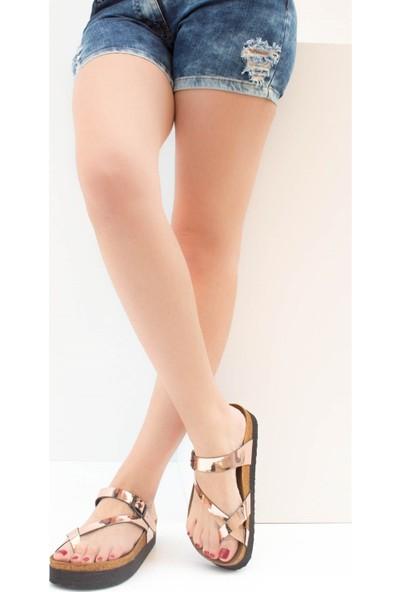 Fox Shoes Bakır Kadın Terlik B777753034