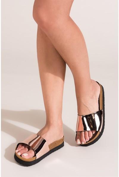 Fox Shoes Bakır Kadın Terlik B777786534