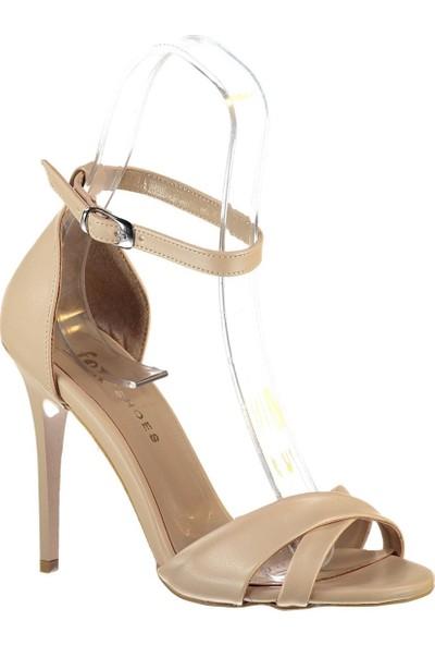Fox Shoes Ten Kadın Topuklu Ayakkabı B922113709
