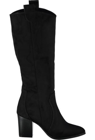 Fox Shoes Siyah Kadın Çizme C340807002