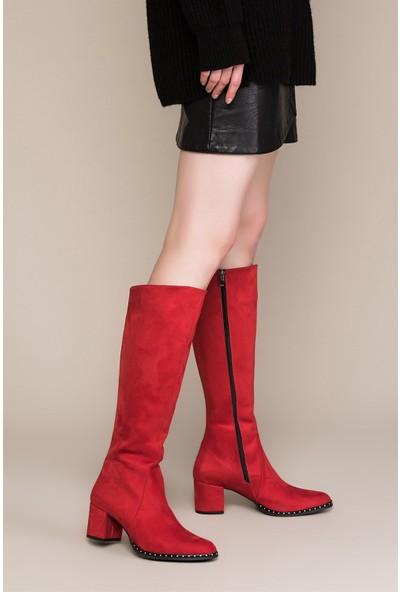 Fox Shoes Kırmızı Kadın Çizme C654652702