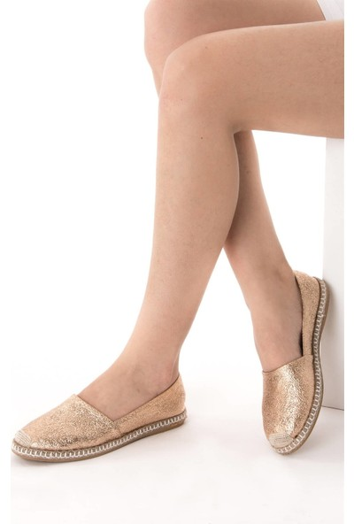 Fox Shoes Bronz Kadın Ayakkabı D280250014