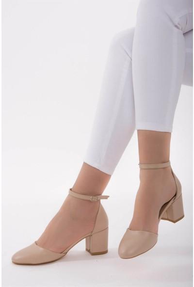Fox Shoes Ten Kadın Topuklu Ayakkabı D422008209