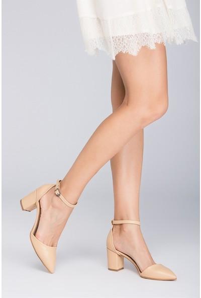 Fox Shoes Ten Kadın Topuklu Ayakkabı D922676709