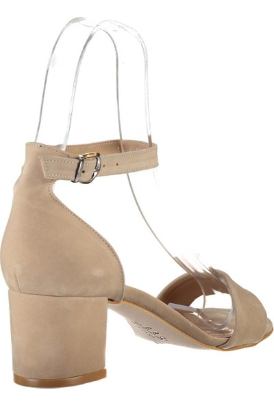 Fox Shoes Ten Kadın Topuklu Sandalet B922631002