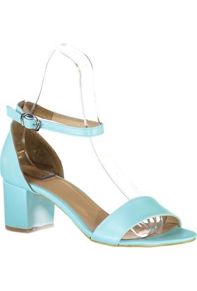 Fox Shoes Mavi Kadın Topuklu Sandalet B922631009