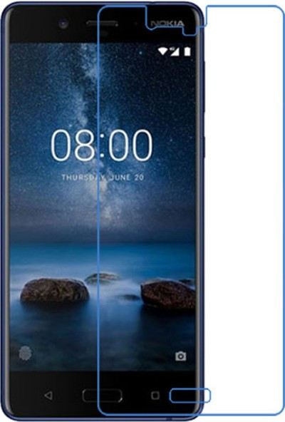 Case 4U Nokia 8 Ekran Koruyucu - Nano Ekran Koruyucu