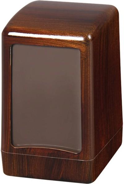 Palex 3474-A Masa Üstü Peçete Dispenseri Ağır Ahşap