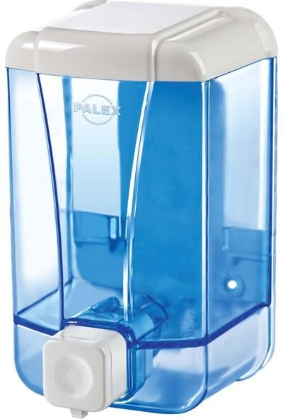 Palex 3430-1 Sıvı Sabun Dispenseri 1000 CC Şeffaf Mavi
