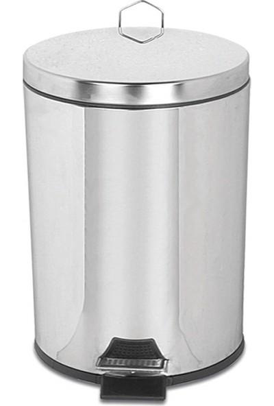 Palex 3700-350 Krom Pedallı Çöp Kovası 50 LT